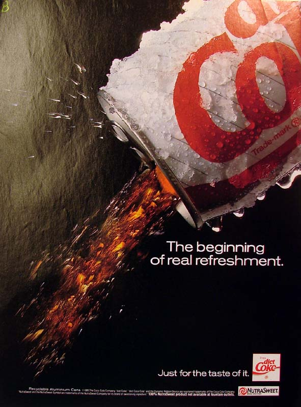 The beginning of real refreshment, 1991
