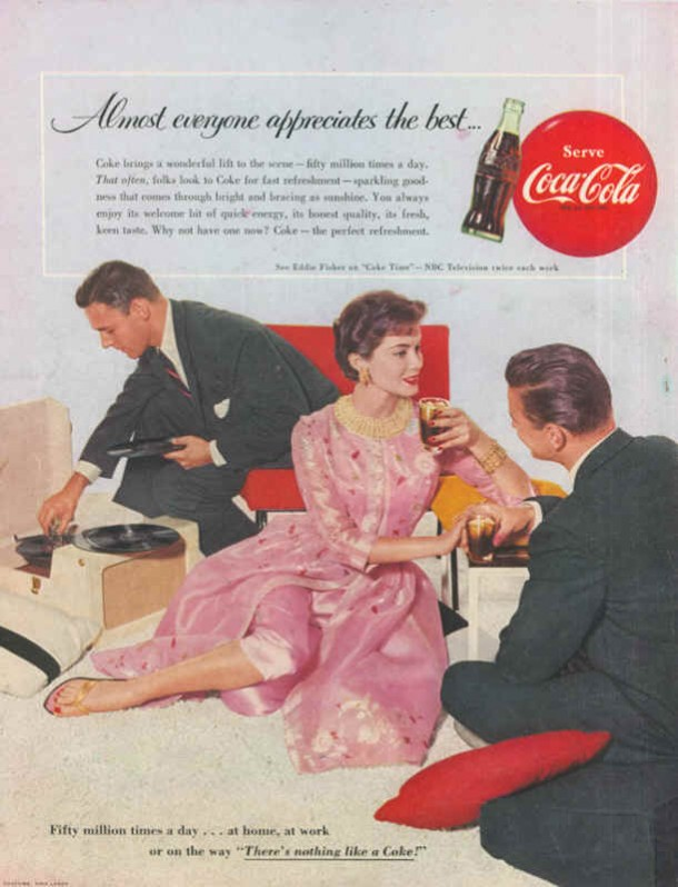 There's nothing like a Coke! 1955