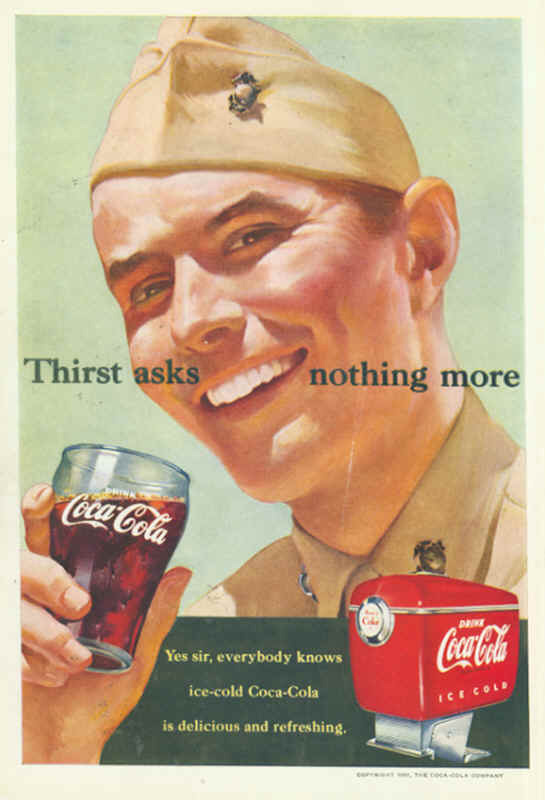 Coca-Cola thirst asks nothing more 1951