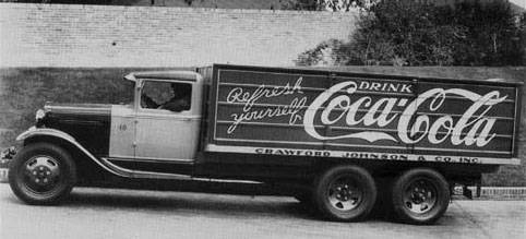 Coca-Cola - Truck Ford 1931 - Model AA - operated by the Birmingham, Alabama
