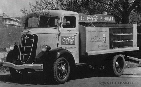 Coca-Cola - Truck Studebaker 1936