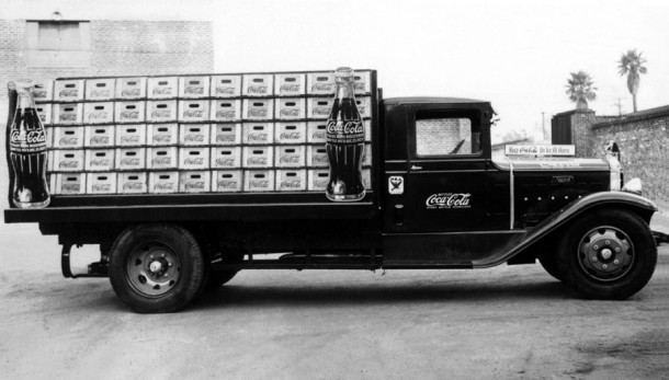 Coca-Cola U.S. delivery truck from 1934