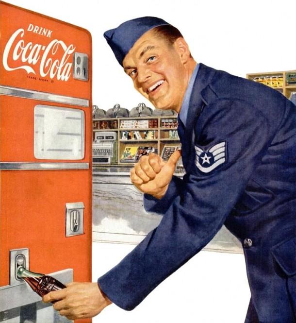Coca-Cola us air force 1952