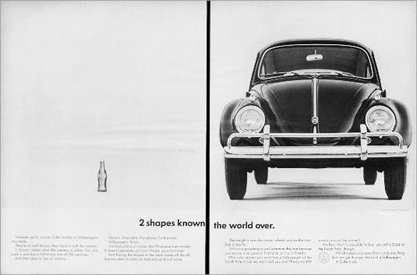 1962 VW Volkswagen Beetle & Coca-Cola