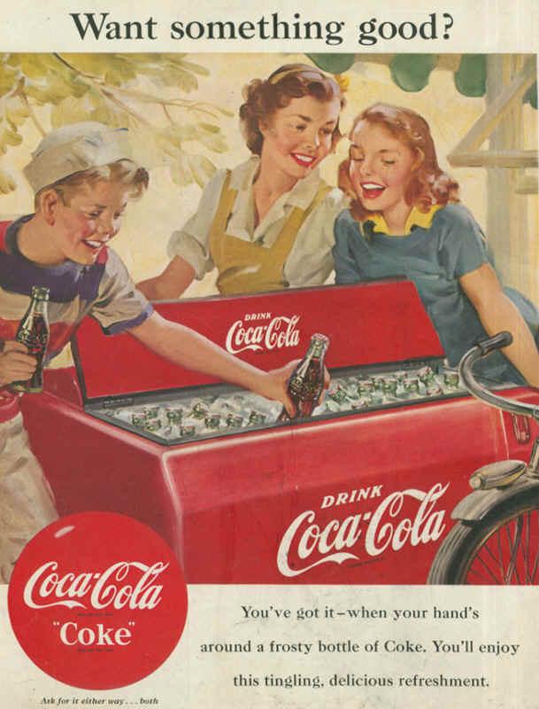 Coca-Cola want something good? 1951
