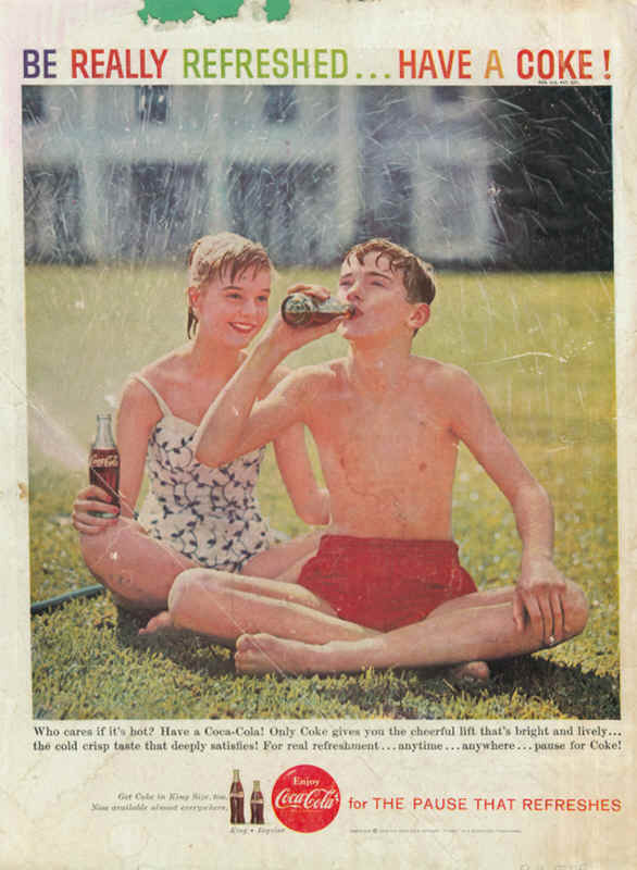 Who cares if it's hot? Have a Coca-Cola! 1959