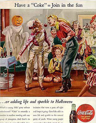 Coca-Cola Halloween poster 1944