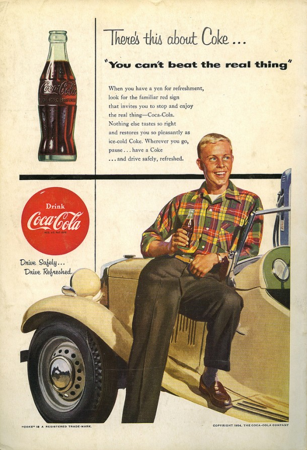 You can't beat the real thing 1954