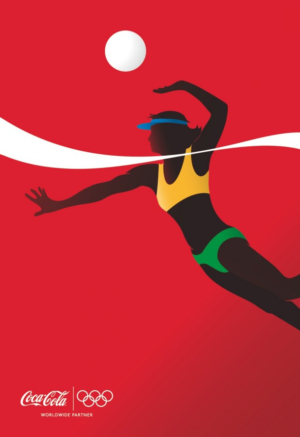 Coca-Cola athletes: Beach Volleyball, 2012