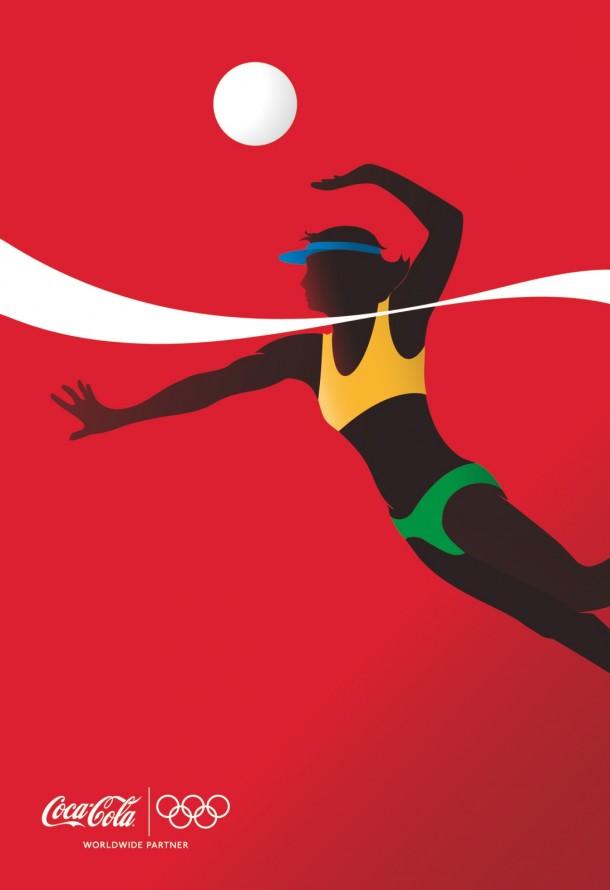 Coca-Cola athletes: Beach Volleyball, 2012