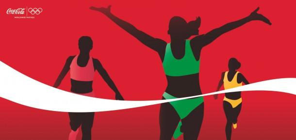 Coca-Cola athletes: Runners, 2012