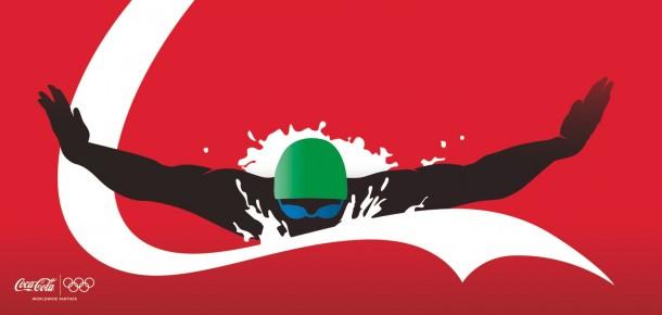 Coca-Cola athletes: Swimmer, 2012