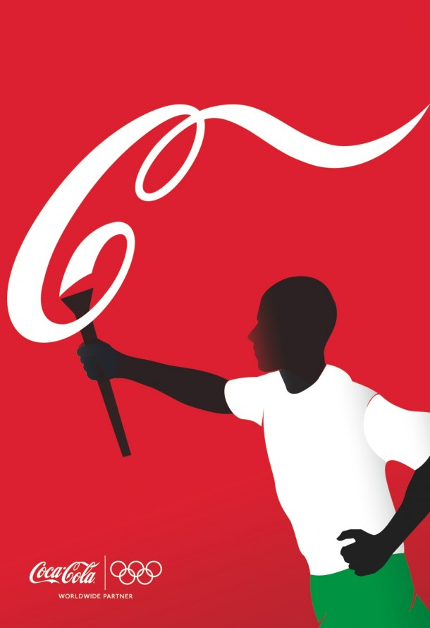 Coca-Cola athletes: Torch Bearer, 2012