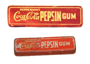 Coca Cola Pepsin Gum, 1912