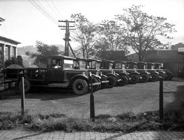Coca-Cola, trucks, Asheville, NC c1920s
