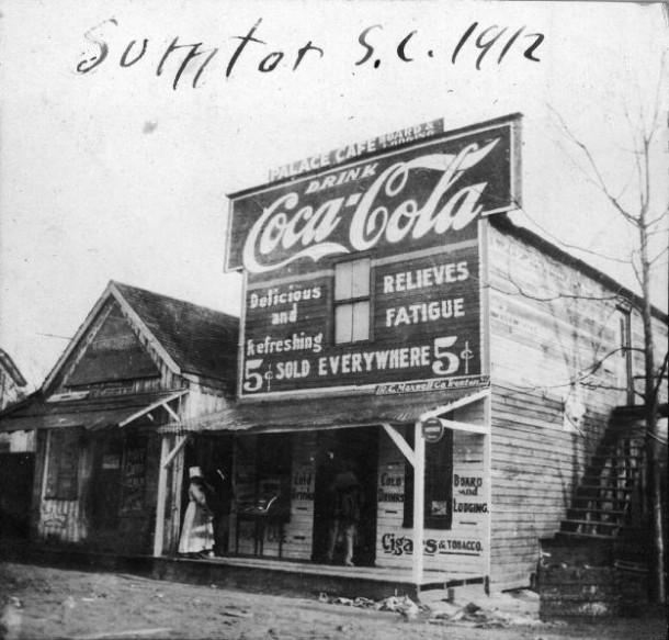 Palace cafe. Sumter, SC 1912
