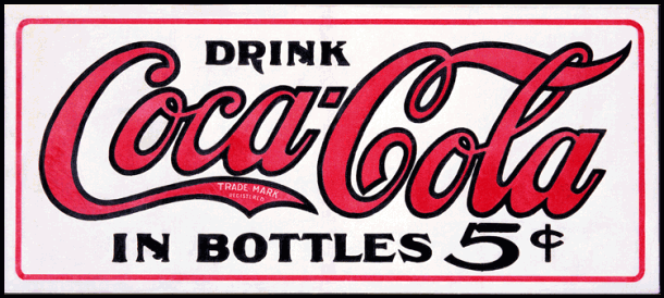 Drink Coca Cola in bottles
