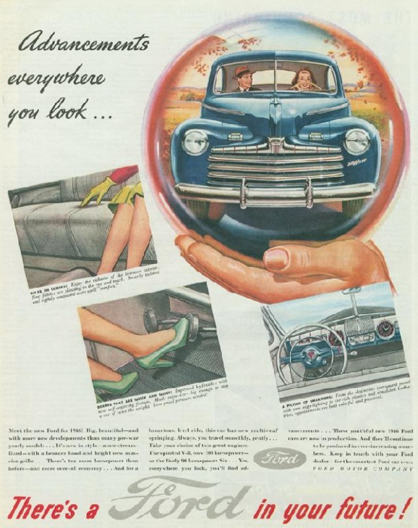 Advancements everywhere you look..., 1945