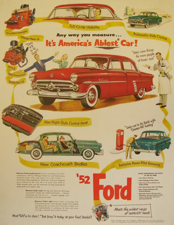 Any way you measure... It's America's ablest car!, 1952