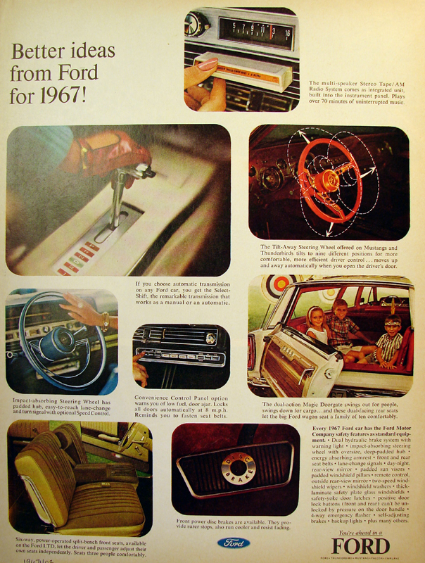Better ideas from Ford for 1967