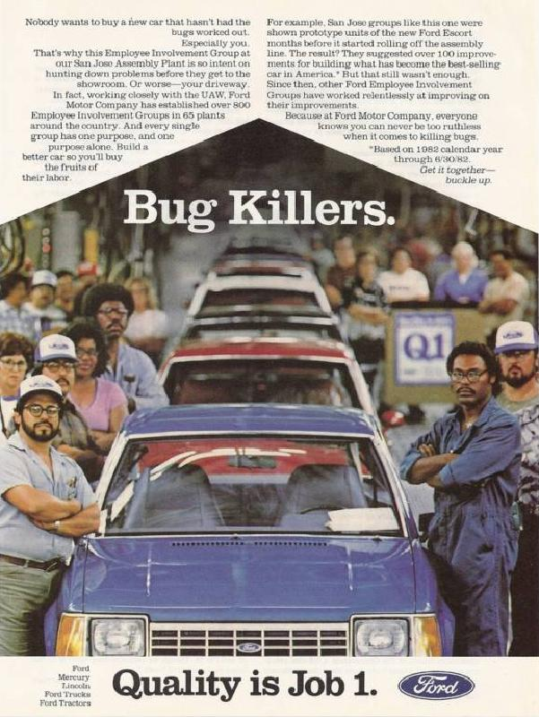 Bug Killers, Quality is Job 1, 1982
