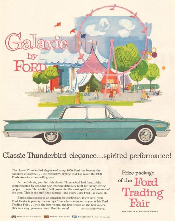 Classic Thunderbird elegance... spirited performance!, 1960