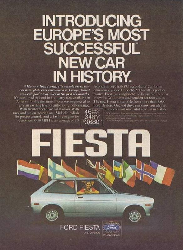 Introducing Europe's most successful new car in history, 1978