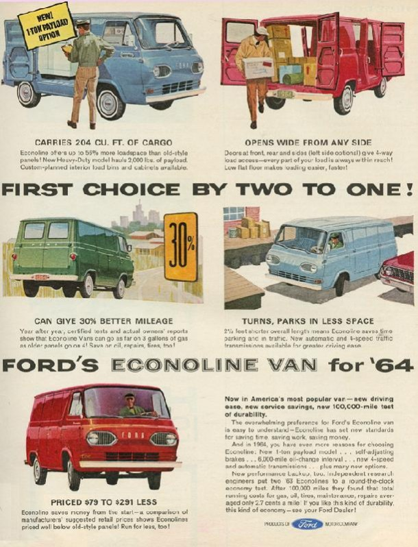 First choice by two to one!, 1964