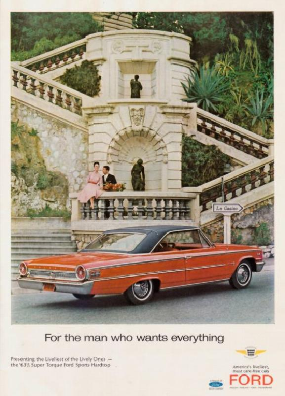 For the man who wants everything, 1963