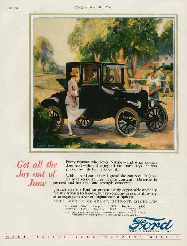 Get all the joy out of the june, 1925