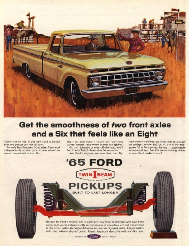 Get the smoothness of two front axles and a Six that feels like an Eight, 1965