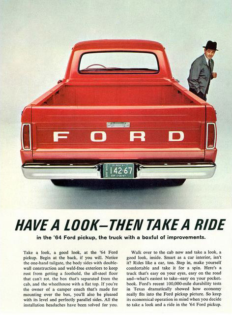 Have a look - then take a ride, 1964
