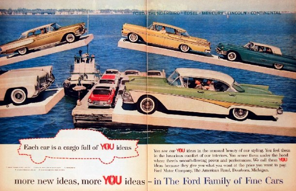In the Ford family of fine cars, 1958