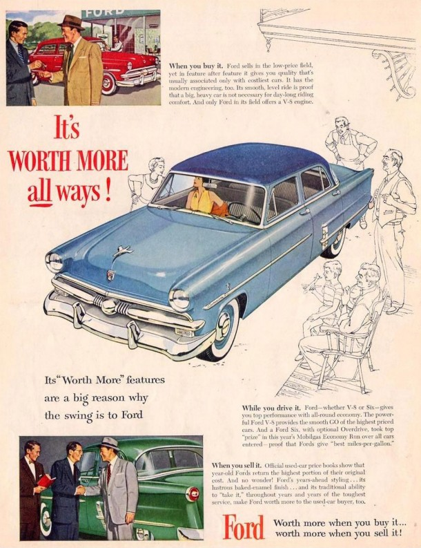 It's worth more all ways!, 1953