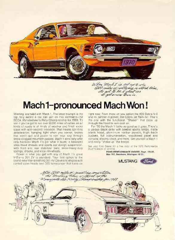 Mach1 - pronounced Mach Won!, 1970
