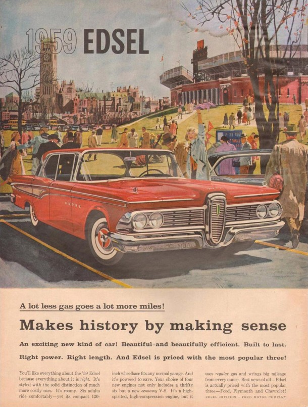Makes history by making sense, 1958