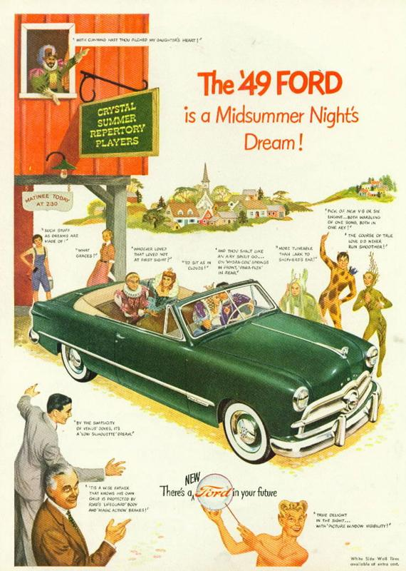 The '49 Ford is a Midsummer night's dream!, 1949