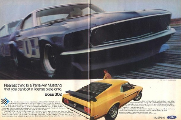 Ford Mustang Boss 302, 1969