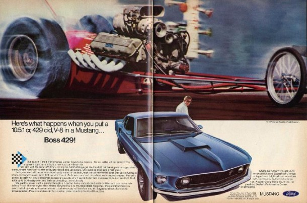 Ford Mustang Boss 429!, 1969