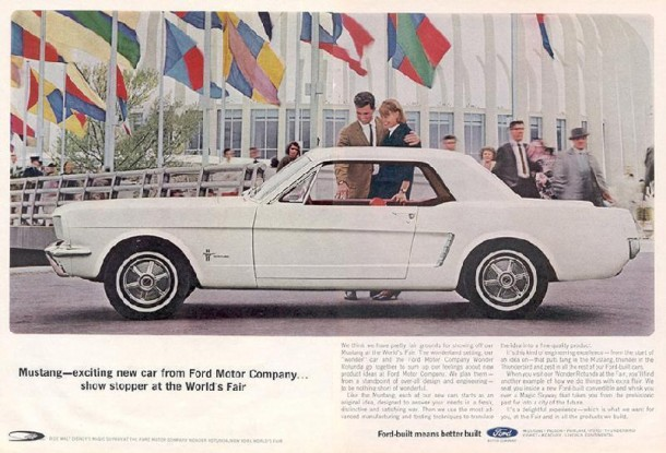 Mustang - exciting new car from Ford Motor Company, 1964