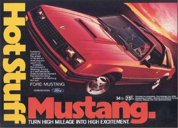 Hot stuff Mustang, 1981