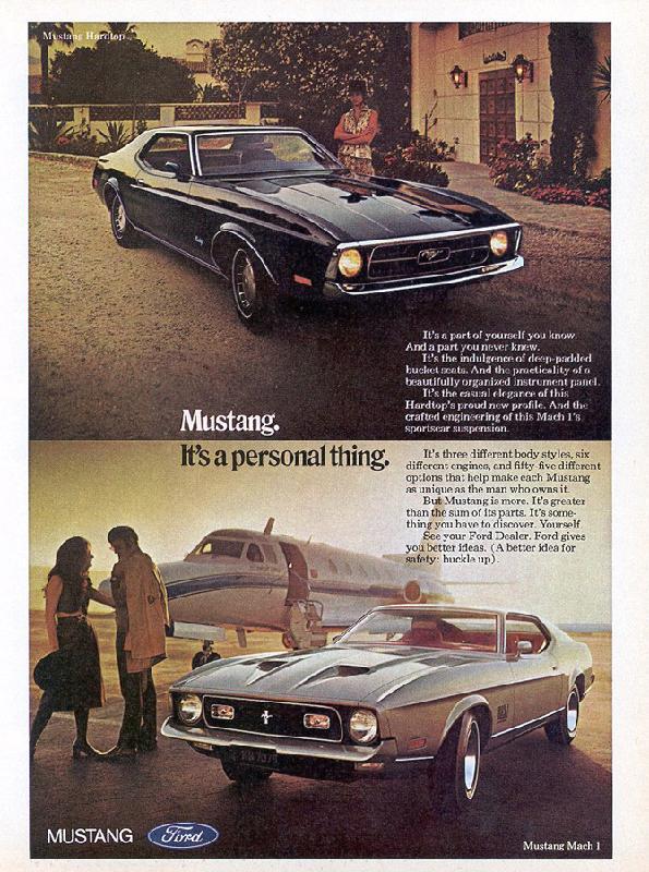 Mustang Mach 1, 1971