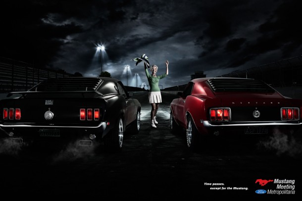 Time passes, except for the Mustang, 2010