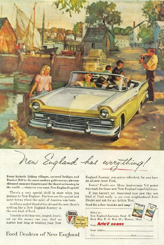New England has everything!, 1956