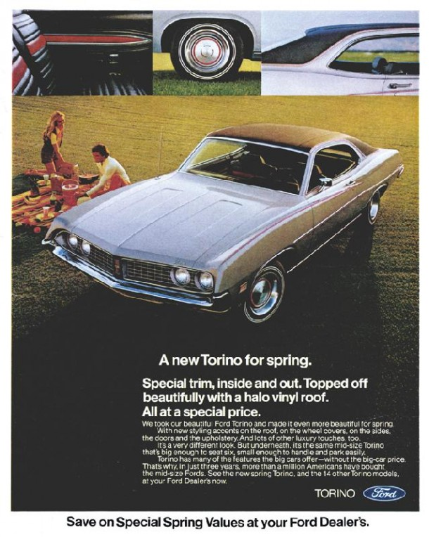 A new Torino for spring, 1971