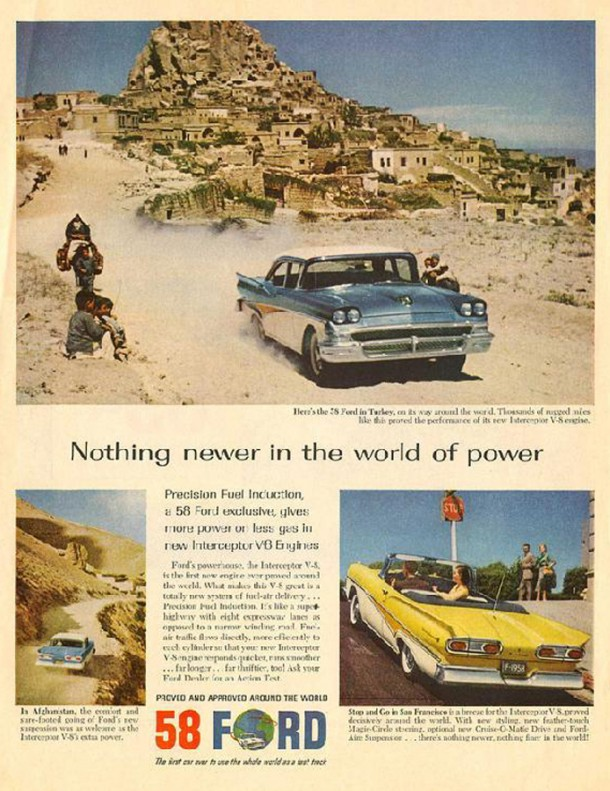 Nothing newer in the world of power, 1958
