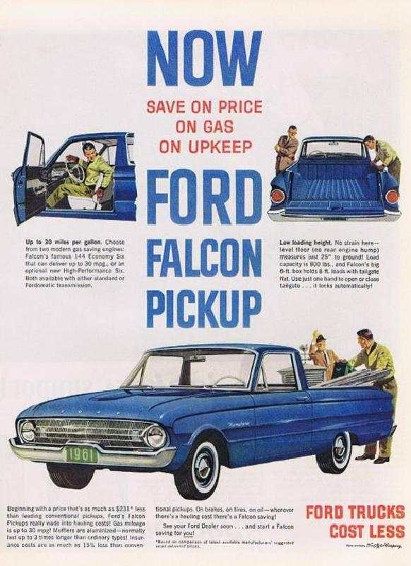 Ford Falcon Pickup 1961
