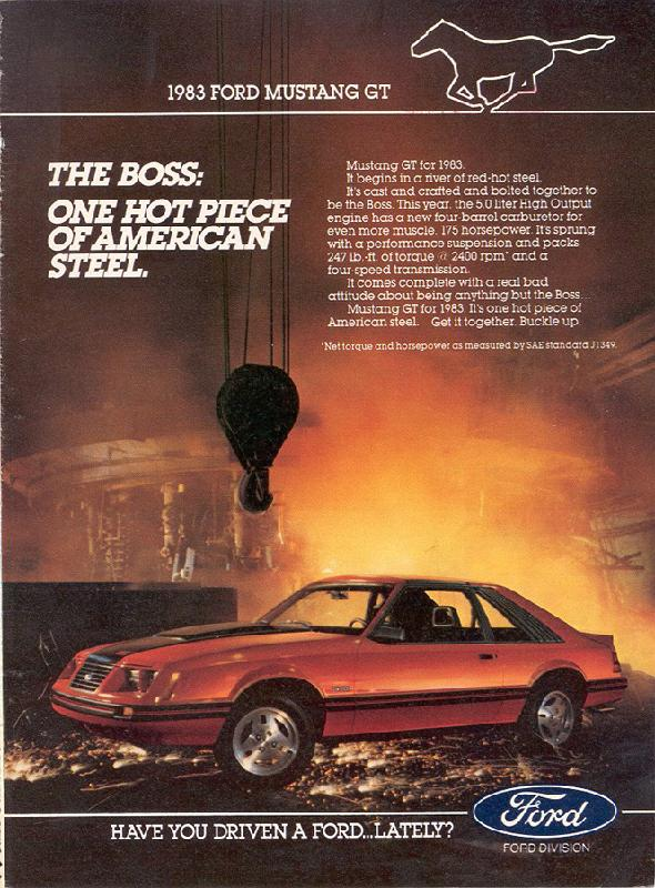 The boss: one hot piece of American steel, 1983