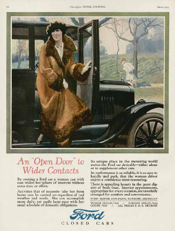 "An ""Open Door"" to wider contacts, 1925"