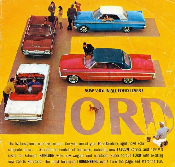 Ford range, 1963